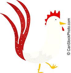 cartoon cockerel