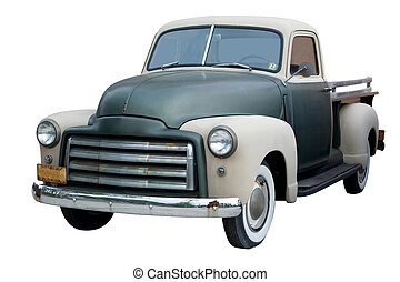Classica Pickup Truck - An Old Pickup Truck from the 1950s