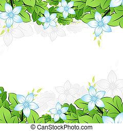 Flowerl frame