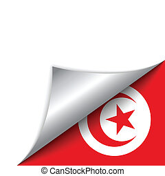 Turkey Country Flag Turning Page