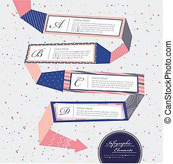 creative flow chart infographics design - vector...