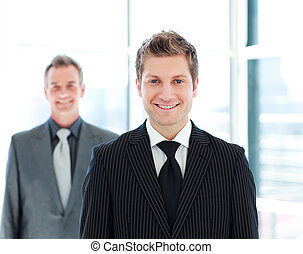 One Senior and one Junior business in discussion - Two...