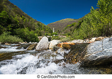 Valle, canobbio, Ticino, Italia