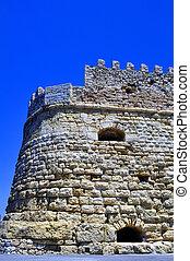 Fortification: Venetian castle (Koules), in Crete, Greece