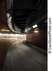 pedestrian tunnel between Westkreuz station and ICC...