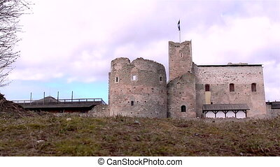 The old castle as a tourist attraction - The old medieval...