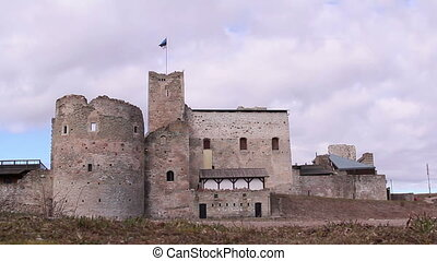 Front view of the old castle - Front view of the old...