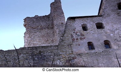 The stoned wall of the old castle - The stoned wall of the...