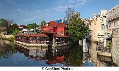 Certovka in Prague