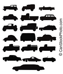 auto and truck collection - large collection of autos and...