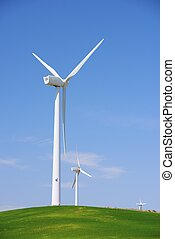 Wind energy - Windmills for electric power production,...