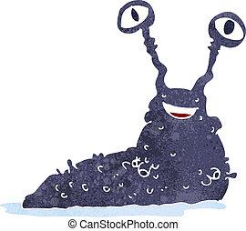 cartoon slug
