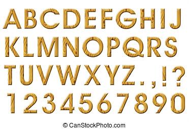 bois,  Alphabet
