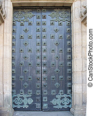 The door to St. James - The largest door I ever seen,to...