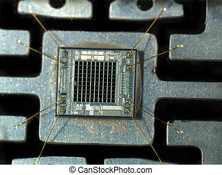 Computer chips - Stock pictures of computer and electronic...