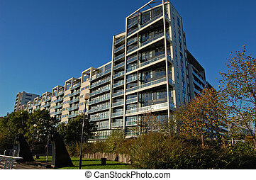 Glasgow Waterfront Apartments - Waterfront apartments on the...