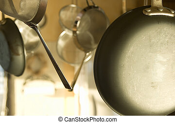 cookware suspended