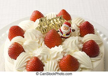 imaginación, pastel, navidad