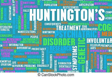 Huntington's Disease - Huntington's or Huntingtons Disease...