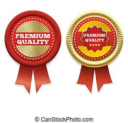 Premium Quality Vector Label