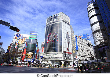Around Shibuya Station, Hachiko Exit