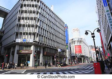 Cityscape of Shibuya