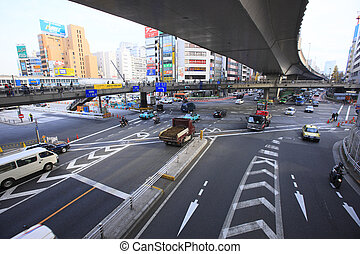 Route 247 and Shibuya StationEast Exit area