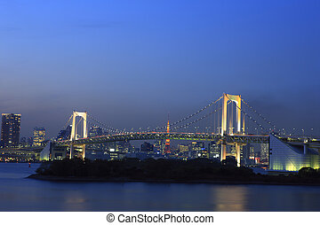 Rainbow Bridge Night View