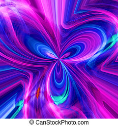 Abstract background with a multi-coloured pattern
