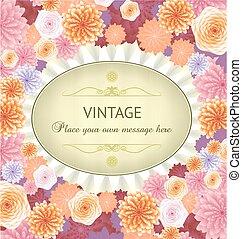 Floral spring background .eps10