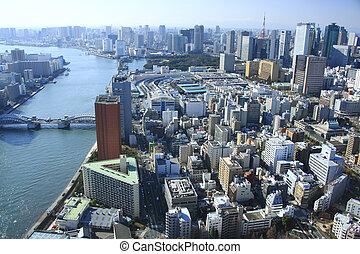 Sumida River, the Tsukiji market, and Tokyo Tower