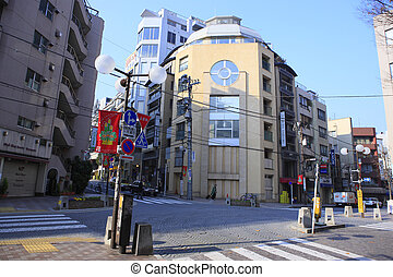 Azabu and Patio Jyuban Crossing Area