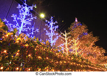 Christmas illuminations of Hamamatsucho