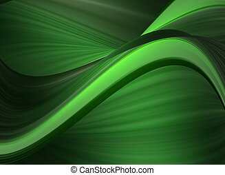 abstract - green dynamic background abstract illustration