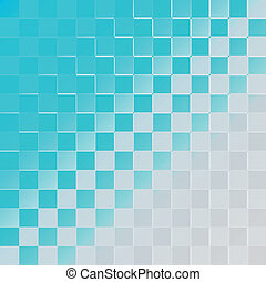 Abstract halftone background blue