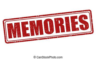 Memories stamp