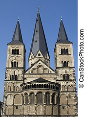 Bonn Palatine Chapel - Palatine Chapel in Bonn, Germany