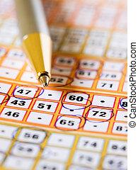 Bingo, bilhete