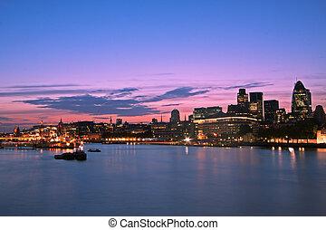City of London, skyline