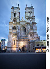 Westminster Abbey in London - London, UK - Westminster Abbey...