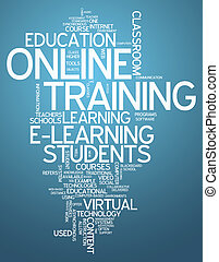 Word Cloud Online Training - Word Cloud with Online Training...