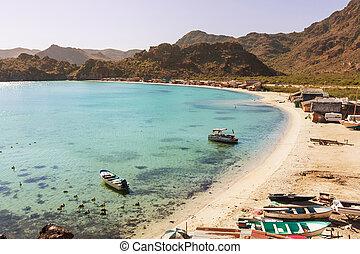 Baja California beach