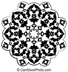 Ottoman motifs design series with f - Versions of Ottoman...