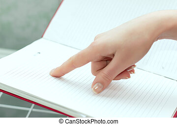 Pointing at a Document