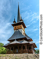 Wood church from Maramures - Beauftifull wood ortodox church...