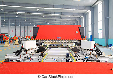 TANGSHAN - DECEMBER 22: The Machinery and equipment in the...