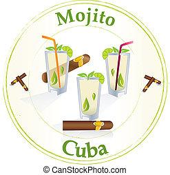 Mojito - Cuna - Stamp with mojito