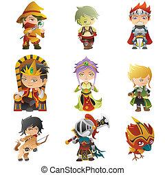 Fantasy avatar icons