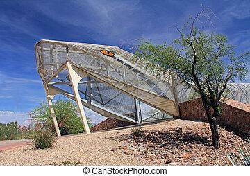 Rattlesnake Bridge in Tucson Arizon - Head end of the...