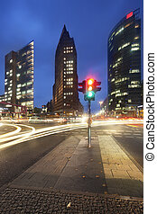 Potsdamer Platz - Berlin, Germany - Potsdamer Platz at dawn